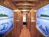 Hariyana One cabin corridor