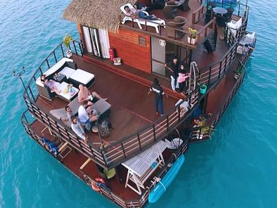 Floating Water Villa